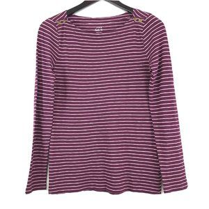 J. Crew Striped Painter Tee Long Sleeve Shirt